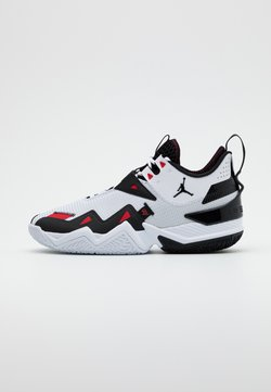 Jordan - WESTBROOK ONE TAKE - Basketball shoes - white/black/university red