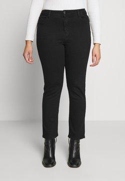 Evans - Straight leg jeans - black