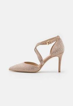 Anna Field - LEATHER - Zapatos altos - beige
