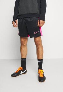 Nike Performance - DRY ACADEMY SHORT  - kurze Sporthose - black/hyper pink