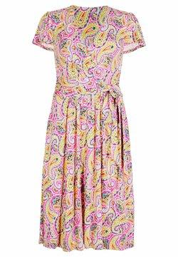 Boden - Jerseykleid - pink, sommerliches paisleymuster