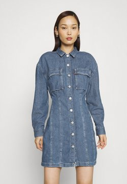 Levi's® - BRAELYN UTILITY DRESS - Denim dress - blue denim