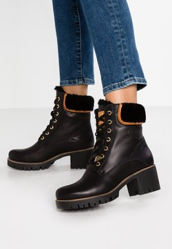 Panama Jack - PHOEBE IGLOO TRAVELLING - Bottines à lacets - black