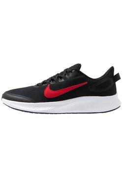 Nike Performance - RUNALLDAY 2 - Hardloopschoenen neutraal - black/university red/white