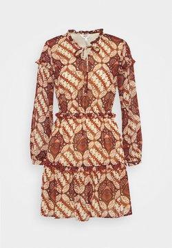 Object Petite - OBJGRIVA SHORT DRESS - Freizeitkleid - ethnical