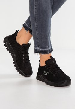Skechers Sport - GRACEFUL - Sneaker low - black