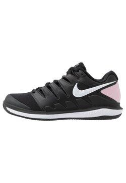 Nike Performance - AIR ZOOM VAPOR - Buty tenisowe na nawierzchnię ziemną - black/pink foam/white
