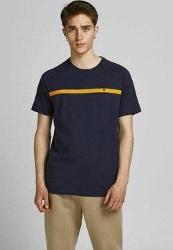 Jack & Jones - FUNKTIONSSHIRT PERFORMANCE - T-Shirt print - navy blazer