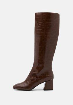 Monki - VEGAN PATTIE BOOT - Bottes - brown medium dusty