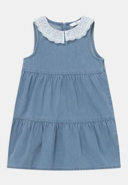 Marks & Spencer London - COLLAR DRESS - Jeanskleid - blue denim