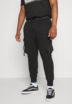 Urban Classics - TACTICAL PANTS - Jogginghose - black