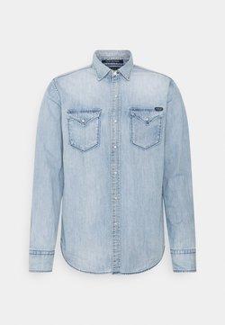 Replay - Camisa - light blue denim