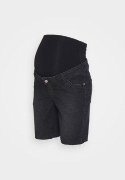 MAIAMAE - LONGER BOY  - Jeansshorts - washed black
