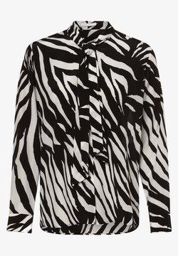BOSS - Hemdbluse - schwarz weiß