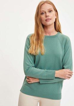 DeFacto - Sweter - green