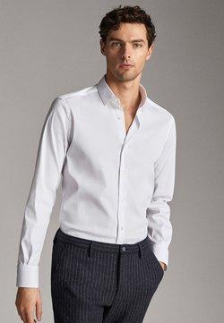 Massimo Dutti - MIT OTTOMANSTRUKTUR - Camicia elegante - white