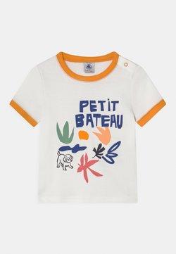 Petit Bateau - T-Shirt print - marshmallow