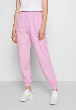New Look - CUFFED JOGGER - Tracksuit bottoms - bright pink