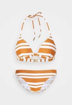 Maryan Mehlhorn - COPERNICA  SET - Bikini - white/copper