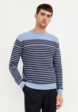 Finn Flare - Strickpullover - light blue