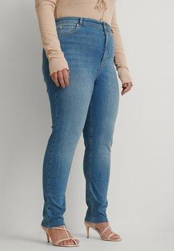 NA-KD - Jeans Skinny - mid blue