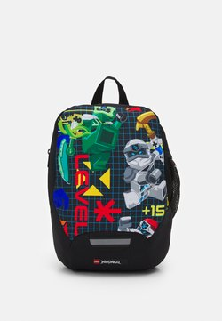 Lego Bags - RASMUSSEN KINDERGARTEN BACKPACK UNISEX - Ryggsäck - black/multi-coloured