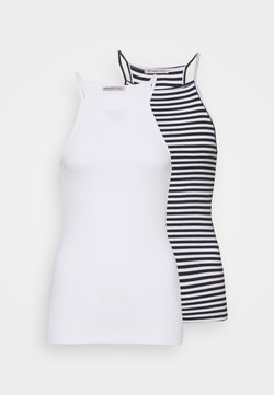 Anna Field Tall - 2 PACK - Top - white/black