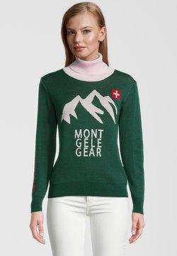 Mont Gele Gear - Strickpullover - grün/pink