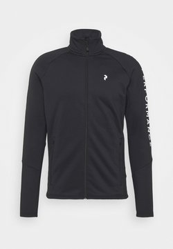 Peak Performance - RIDER ZIP JACKET - Fleecejacke - black