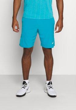 Nike Performance - ACE SHORT - Pantalón corto de deporte - neo turquoise/white