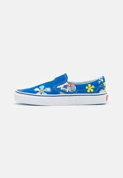 Vans - CLASSIC UNISEX - Loaferit/pistokkaat - blue/yellow/white