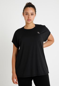 Active by Zizzi - ABASIC ONE - T-Shirt basic - black