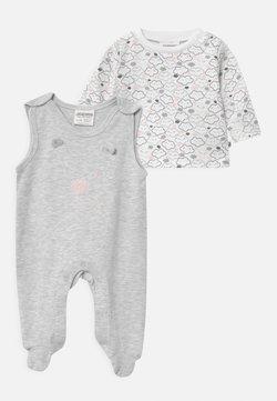 Jacky Baby - WELCOME UNISEX - Pyjama - grey, white
