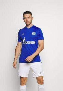 Umbro - FC SCHALKE 04 HOME - Vereinsmannschaften - deep surf blue/brilliant white