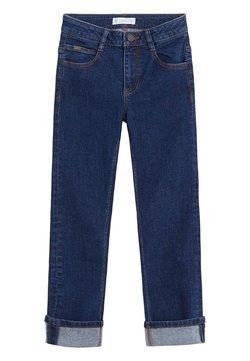 Mango - REGULAR - Straight leg jeans - donkerblauw
