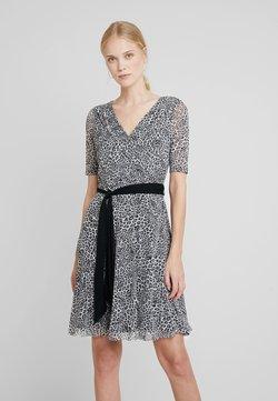 Esprit Collection - PRINTED - Jerseykleid - black