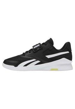 Reebok - LIFTER PR II - Sportschoenen - black/white/chartr