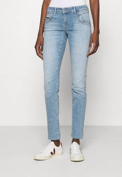 Mavi - LINDY - Jeans Slim Fit - destroyed denim