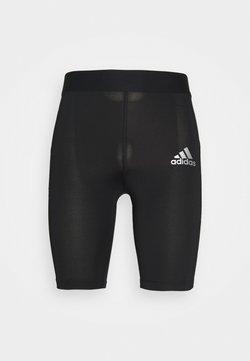 adidas Performance - TECH FIT TIGHT - Pants - black