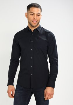 Tommy Jeans - ORIGINAL STRETCH SLIM FIT - Overhemd - black