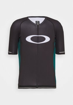 Oakley - ICON  - T-Shirt print - black/bayberry