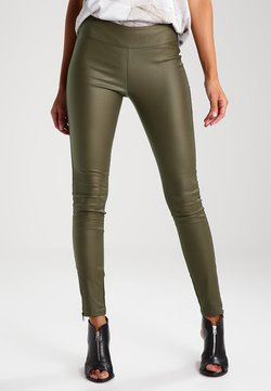 Cream - BELUS KATY - Leggings - Hosen - army green