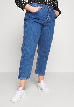 Levi's® Plus - PL 501® CROP - Straight leg jeans - jive stonewash