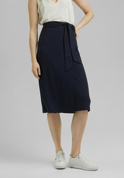 Esprit Collection - Jupe portefeuille - navy