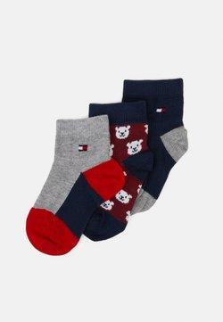 Tommy Hilfiger - BABY BEAR GIFTBOX 3 PACK - Socks - blue