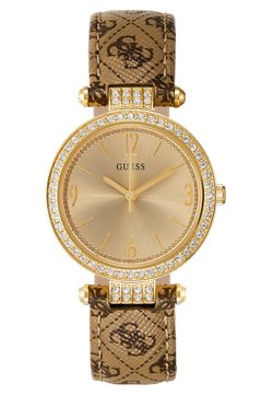 Guess - LADIES - Montre - gold-coloured/brown