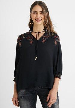 Desigual - Bluse - black