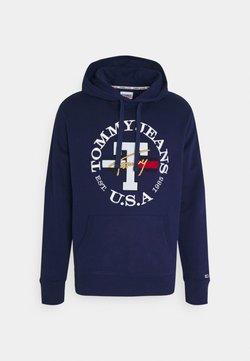 Tommy Jeans - TIMELESS HOODIE UNISEX - Sweatshirt - nightfall