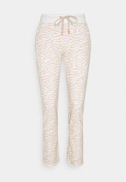 LASCANA - PANTS - Nachtwäsche Hose - nougat zebra