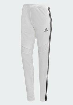 adidas Performance - TIRO PANT AEROREADY FOOTBALL PANTS - Spodnie treningowe - White
